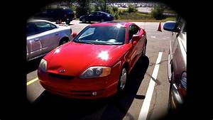 2003 Hyundai Tiburon 2 0l 5mt Start Up  Quick Tour   U0026 Rev - 143k