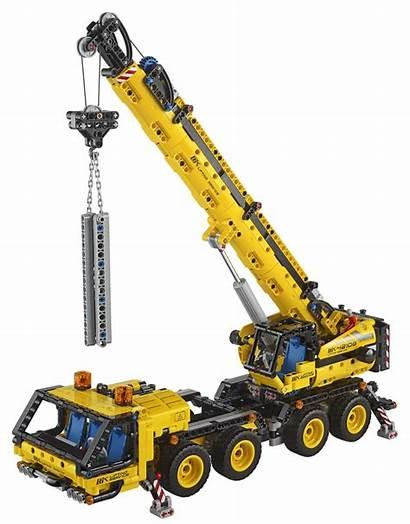 Lego Technic Crane Mobile Robot Toy