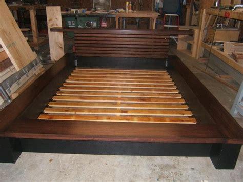 Platform Beds At Walmart by Bedroom Building A King Size Bed Frame Plans Diy