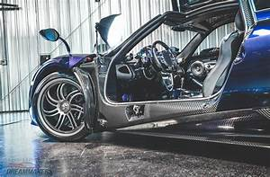 Pagani Huayra - Dark Blue-CF, Grey interior, US spec ...