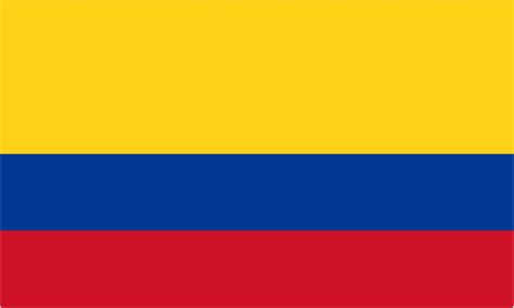 National Boat Flags by Colombia Boat Courtesy Country Flag