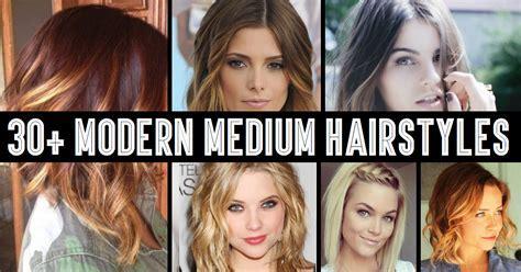 30  Modern Medium Hairstyles For A Clean Cut Hollywood