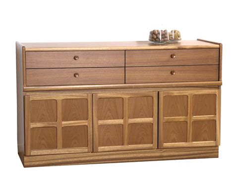 Classic Sideboard Furniture by Nathan Classic Teak 1504 Buffet Sideboard Sideboards