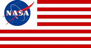 Flag of Nasa and USA combined : vexillology