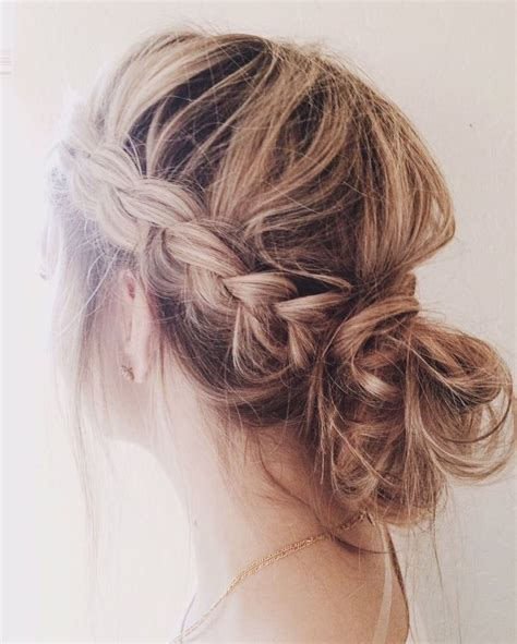 ways to style thin hair 15 amazing ways to upgrade your bun this summer 1334