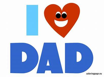 Dad Clipart Daddy Loving Clip Father Cliparts