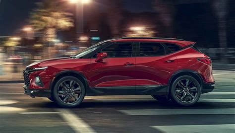 2019 Chevrolet Blazer (pictures, Price, Performance And