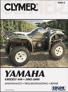 Yamaha Grizzly 660 Repair Shop Manual 2002-2008