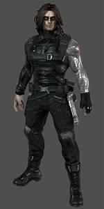 Winter Soldier - Marvel Heroes Complete Costume List
