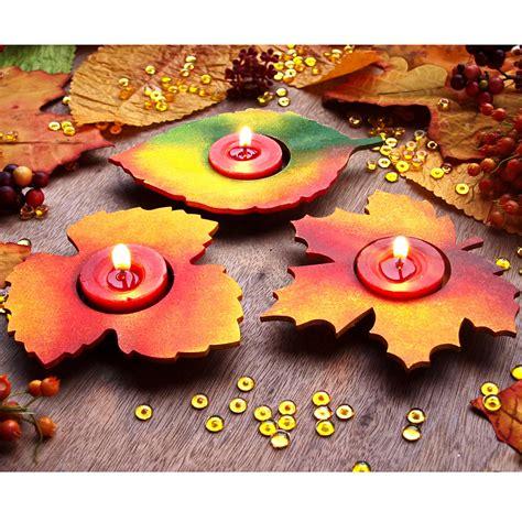 Bastelideen Herbst Fenster Erwachsene by Teelichthalter Aus Mdf