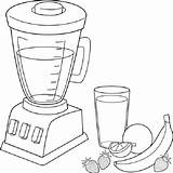 Coloring Fruit Smoothies Smoothie Pages Blender Recipes Recipe Ninja Banana Healthy Frozen Oats Ecoloring Quiet Patterns sketch template