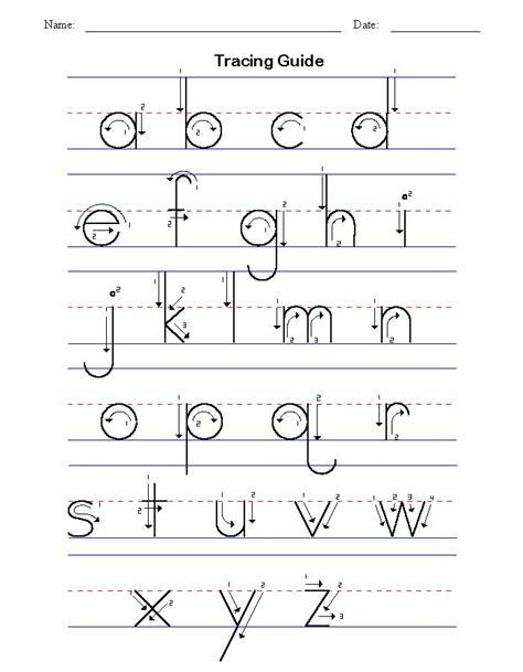abc tracing sheets preschool worksheets  alphabet