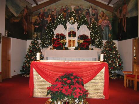 canton   saints catholic church main altar photo