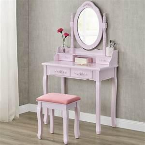 Schminktisch Hocker Ikea : schminktisch kosmetiktisch frisierkommode rosa mit hocker ~ A.2002-acura-tl-radio.info Haus und Dekorationen