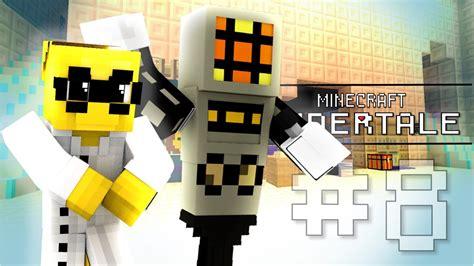 Minecraft Undertale Alphys And Mettaton! (minecraft