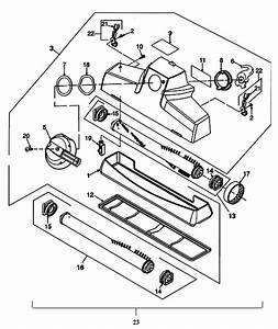 Kirby Sentria  G10d  Vacuum Cleaner Parts