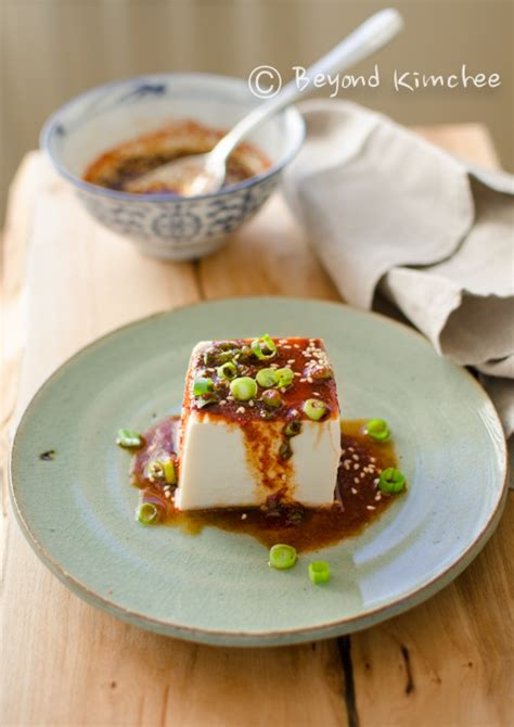 soft tofu recipes steamed soft tofu with soy chili sauce beyond kimchee