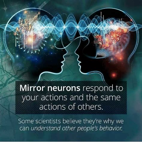 how to mirror your mirror neurons respond to your actions and the same