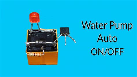Water Pump Auto Off Circuit Very Easy Youtube