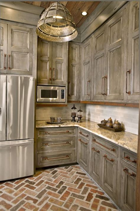 antique gray kitchen cabinets 25 best ideas about rustic kitchen cabinets on 4090