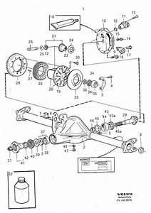 979651 - Flange Screw  Ratio  Axle  Rear