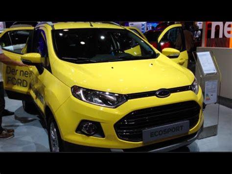 ford ecosport   detail review walkaround interior