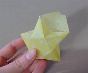 3d Stern Basteln 5 Zacken : origami sterne 3d falten faltanleitung lichterkette ~ Lizthompson.info Haus und Dekorationen