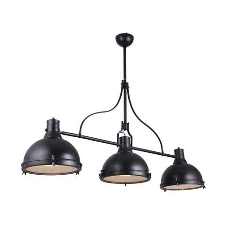 matelas pour canape suspension lumière lampa style industriel noir avec 3