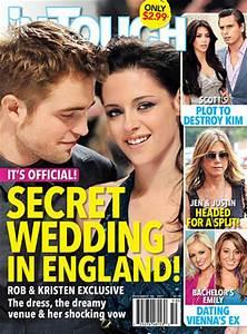 Robert Pattinson and Kristen Stewart: The Secret Wedding ...