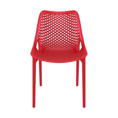 4 pied 4 chaise chaise de jardin moderne ajourée en polypropylène air 4 pieds tables chaises et tabourets