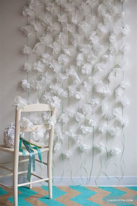 Diy Backdrop Ideas by Top 10 Diy Floral Garland And Backdrop Ideas For Your Home