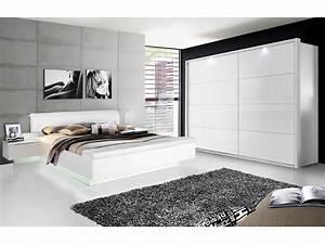 Schlafzimmer Komplett Weiß Hochglanz : silent komplett schlafzimmer weiss hochglanz 4 teilig 200 cm ~ Indierocktalk.com Haus und Dekorationen