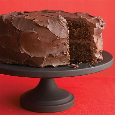 dark chocolate cake  ganache frosting recipe martha stewart