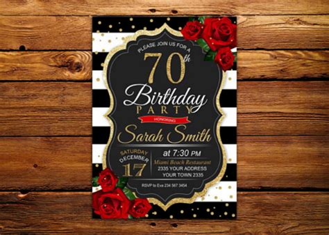 birthday invitation card templates designs