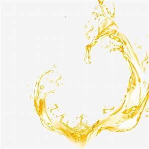 Gold Oil Splash, Oil, Golden, Droplets PNG and PSD File ...
