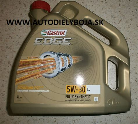 castrol 15669e edge motoröl titanium fst 5w 30 ll 5l motorov 233 oleje castrol edge 5w30 ll 4l autodiely boja brzdov 233 trubky