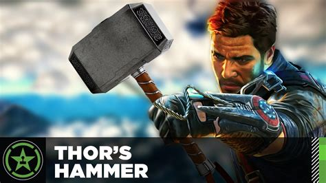 easter egg just cause 3 thor 39 s hammer youtube