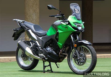 Kawasaki Versys X 250 Image by Ride Impression 2017 Kawasaki Versys X 250 Dual Purpose
