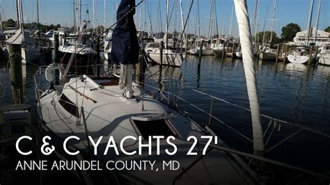 Electric Boat Annapolis by Sold C C Yachts 27 Mk V Electric Boat In Annapolis Md