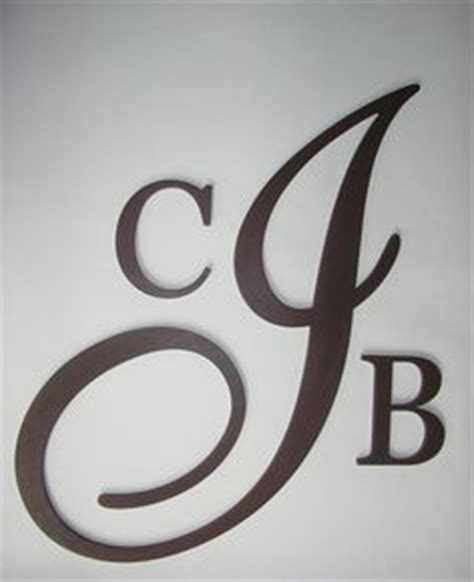 Permalink to J Wall Decor Letter Black Large