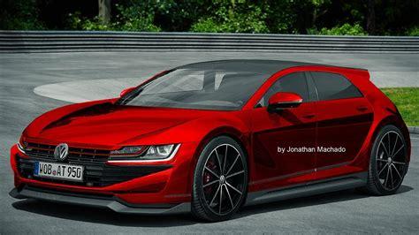 2020 Volkswagen Gti by Render New 2020 Volkswagen Golf Mk8 Gti Hybrid 400 Hp