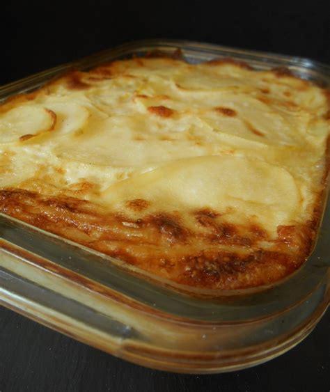 gratin de pommes de terre au fromage