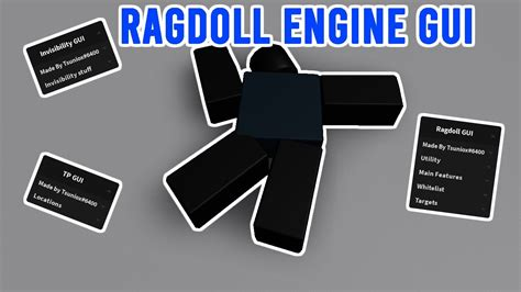 Script with the most useful features for this game! Ragdoll Engine Gui Script Pastebin Krnl - INSANE! Ragdoll ...