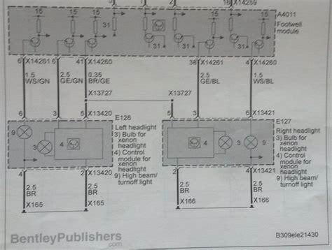 need e92 headlight wiring diagram