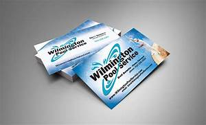 Wilmington pools business card design wilmington nc for Business cards wilmington nc
