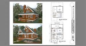 cabins plans two bedroom cabin with loft plans studio design