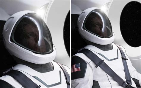 elon musk revealed  spacex space suits  astronauts