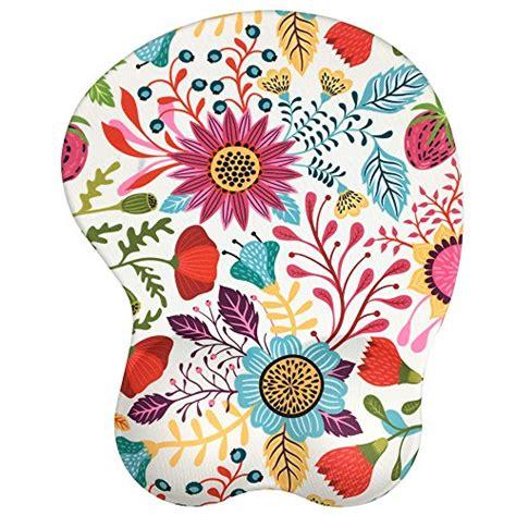 fleur design tapis de souris repose poignets gel gel mouse pad tapis de souris avec repose