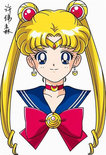 Moon Anime Face Deviantart Sailor Manga Sailormoon