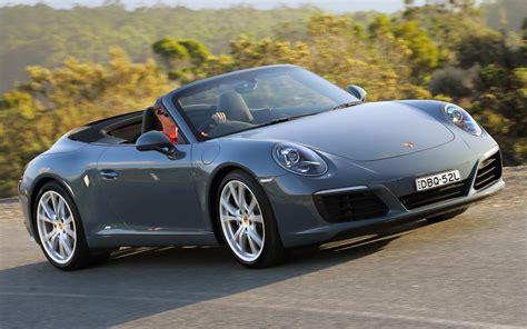 Porsche 911 Carrera Cabriolet 2018 Au Wallpapers And Hd